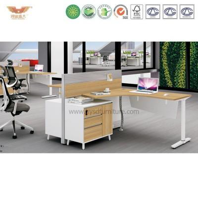 屏风办公桌二人位办公桌隔断办公家具办公屏风卡位办公桌H15-0810