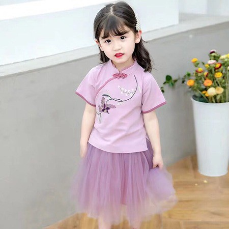 夏季汉服童装 女童汉服童装 新款汉服童装