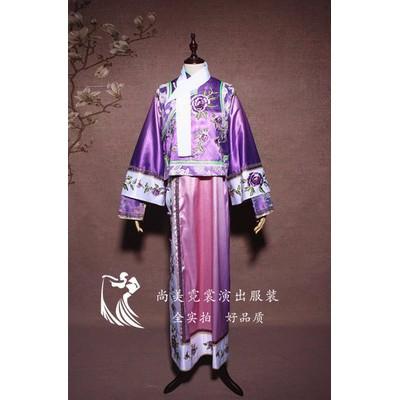 【北京出租】古装汉服女曲裾唐装贵妃服装 影楼拍照汉服女装演出