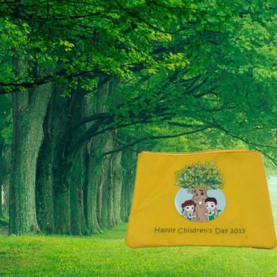 定做可爱尼龙文具袋 订做加印LOGO广告礼品袋爱学习文具袋