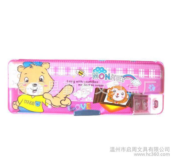 直销维尼小熊卡通学习文具盒 时尚学生文具盒(图)