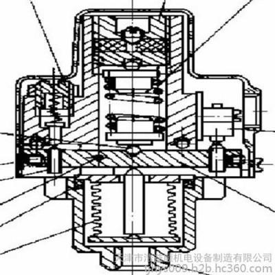 内燃机车压力继电器 信号继电器