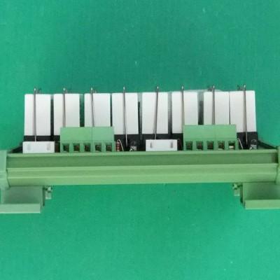 继电器模组 8路欧姆龙继电器