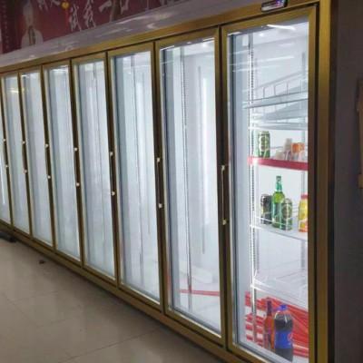 安德利厂家直销多门饮料冷藏柜价格  饮料柜 饮料冰图