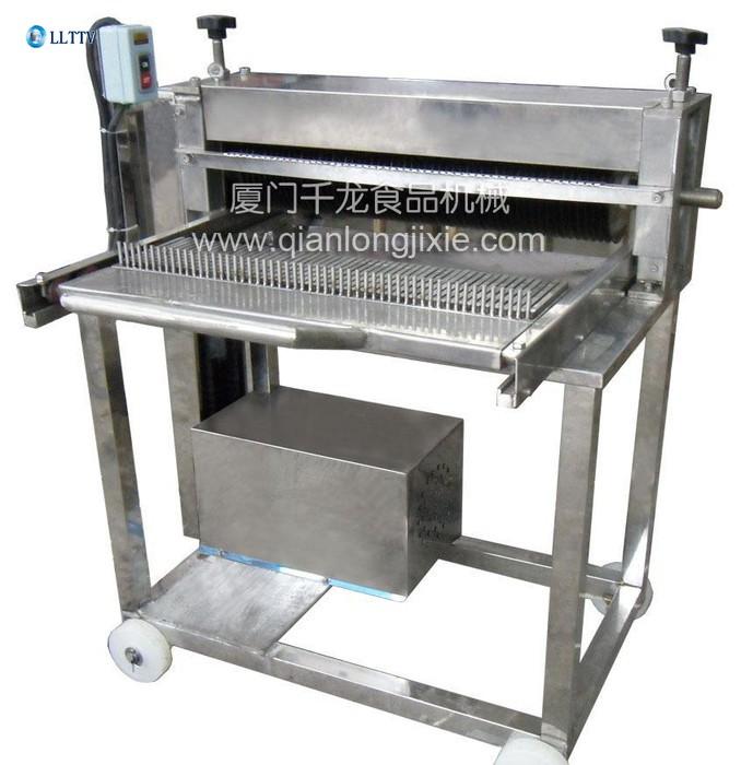 鱼豆腐千叶豆腐切片切块机械 福建厦门冷冻调理食品机械直销