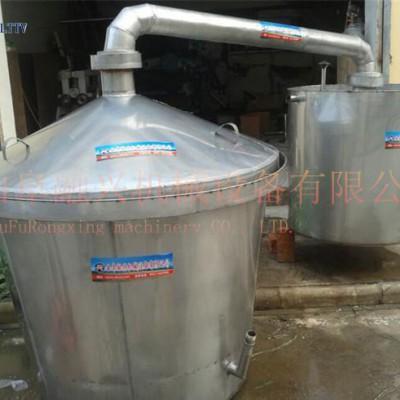 浙江流动做酒设备 家庭作坊制酒机械 做酒配套用甑盖 过笼 冷