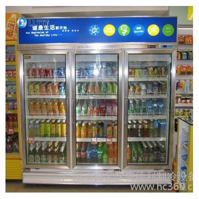供应安德利厂家直多门饮料柜 饮料冰柜 饮料保鲜柜 豪华型 经济型 价格 附图