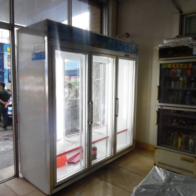 安德利厂家直销定做多门饮料展示柜   饮料冰柜 饮料冷藏柜价格