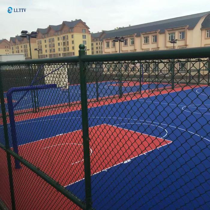 悬浮地板篮球场,悬浮地板球场维修
