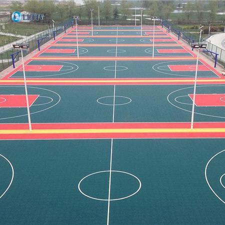 幼儿园悬浮地板/13mm 悬浮地板/悬浮地板篮球场/悬浮地板球场无味