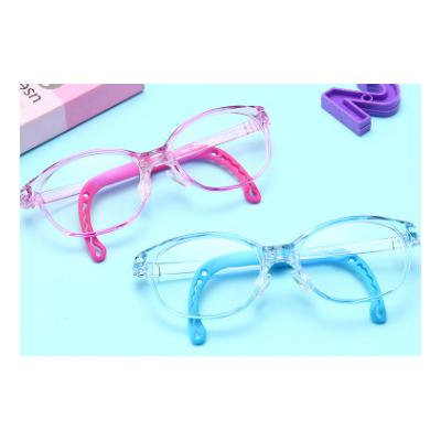 会员价21元宝宝防蓝光眼镜 时尚硅胶材质男女同款平光镜F1802